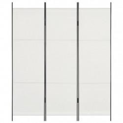 Sonata Параван за стая, 3 панела, бял, 150x180 см - Аксесоари за Всекидневна