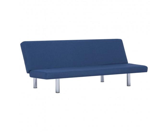 Sonata Разтегателен диван, син, полиестер -