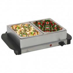 Sonata Бюфет за топло сервиране, неръждаема стомана, 200 W, 2x1,5 л - Малки домакински уреди