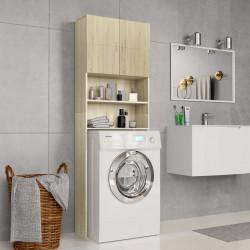 Sonata Шкаф за пералня, дъб сонома, 64x25,5x190 см, ПДЧ - Шкафове за Баня