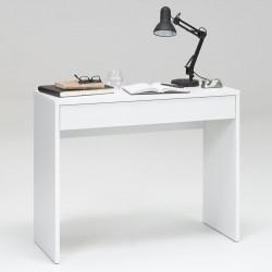 FMD Бюро с широко чекмедже, 100x40x80 см, бяло - Сравняване на продукти