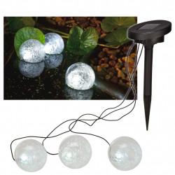 HI Соларна LED плаваща лампа за езеро, 9 см - Външни Структури