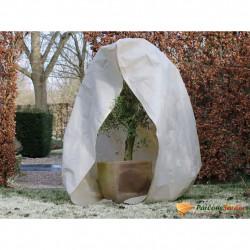 Nature Зимно поларено покривало с цип, 70 гр/м², бежово, 2x1,5x1,5 м - Аксесоари за градината