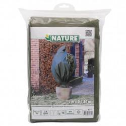 Nature Зимно поларено покривало, 70 гр/м², зелено, 1,5x2 м - Сравняване на продукти