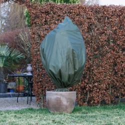 Nature Зимно поларено покривало, 70 гр/м², зелено, 2,5x3 м - Сравняване на продукти