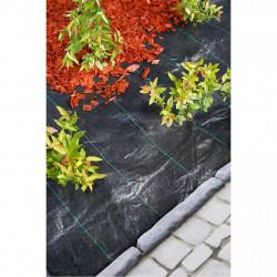 Nature Покривна мрежа срещу плевели, 2x5 м, черна - Оранжерии и Парници