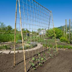 Nature Мрежа за увивни растения, юта, 1,8х5 м - Сравняване на продукти