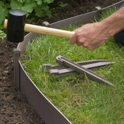 Nature Градински клинове за фиксиране, 10 бр, таупе - Външни Структури