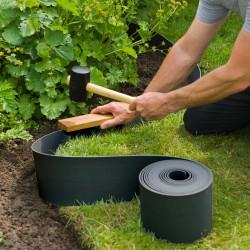 Nature Градински клинове за фиксиране, 10 бр, черни - Външни Структури