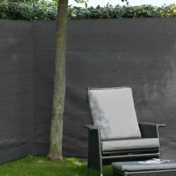 Nature Градинска визуална защита за ограда, PE, 1x3 м, антрацит - Огради