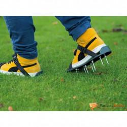 """Nature Аератор обувки за тревни площи тип """"сандали"""", зелен - Външни Структури"""