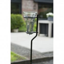 Nature Дъждомер със стойка, стъкло, 130 см, 6080089 - Външни Структури