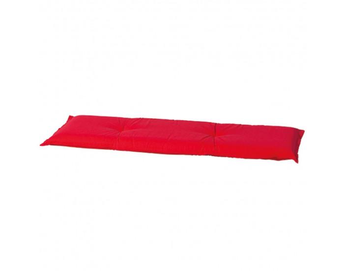 Madison Възглавница за пейка Panama, 120x48 см, червена, BAN6B220