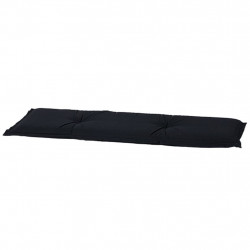Madison Възглавница за пейка Panama, 120x48 см, черна, BAN6B223 - Градински Дивани и Пейки