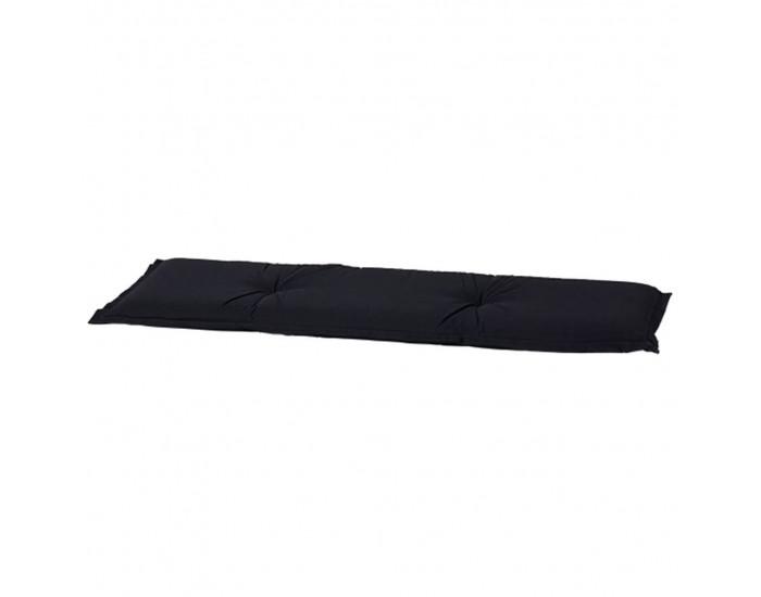 Madison Възглавница за пейка Panama, 120x48 см, черна, BAN6B223