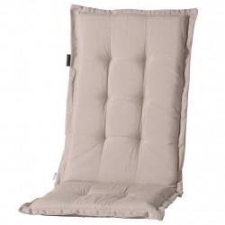 Madison Възглавница за стол с гръб Panama 123x50 см светлобежова - Градински Дивани и Пейки