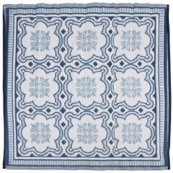 Esschert Design Килим за открито, 151,5 см, синьо и бяло, OC23 - Спортове на открито