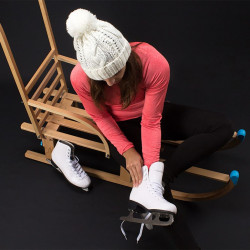 Nijdam Дамски кънки за фигурно пързаляне, р-р 42, 0034-UNI-42 - Спортове на открито