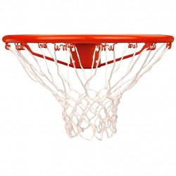 New Port Баскетболен кош с мрежа, оранжев, 16NN - Спортове на открито