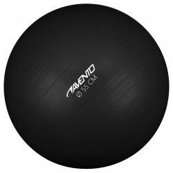 Avento Фитнес/гимнастическа топка, диаметър 55 см, черна - Обзавеждане на Бизнес обекти