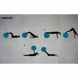 Avento Фитнес/гимнастическа топка, диаметър 55 см, синя - Обзавеждане на Бизнес обекти
