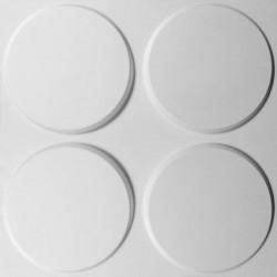 WallArt Стенни 3D панели Ellipses, 12 бр, GA-WA03 - Панели и Детайли