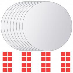 Sonata Огледални плочки, 8 бр, кръгло стъкло - Огледала