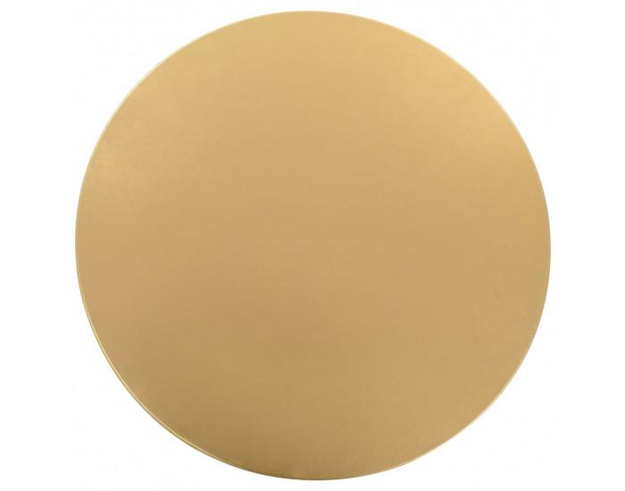 Sonata 2 бр стреч покривки за маса, 60 см, златисти