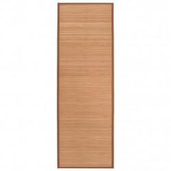 Sonata Йога постелка, бамбук, 60x180 см, кафява - Спортове на открито