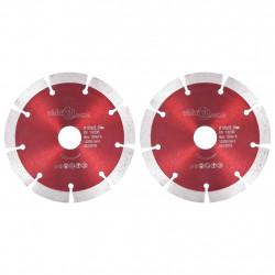 Sonata Диамантени режещи дискове, 2 бр, стомана, 125 мм - Sonata H