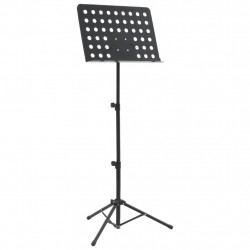 Sonata Стойка за ноти, черна, стомана - Техника и Отопление