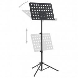 Sonata Стойка за ноти, черна, стомана - Стойки за TV и Плеъри