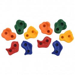 Sonata Камъни за катерене, 10 бр, многоцветен PE - Детски играчки