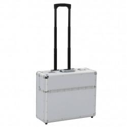 Sonata Пилотски куфар, 54x44x21 см, сребърен, алуминий - Куфари и Чанти