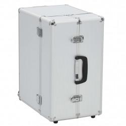 Sonata Пилотски куфар, 47x39x27 см, сребърен, алуминий - Куфари и Чанти