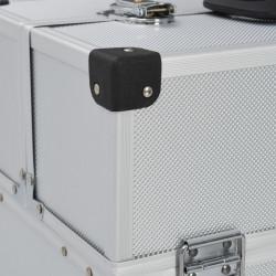 Sonata Куфар за инструменти 43,5x22,5x34 см сребрист алуминий - Куфари и Чанти