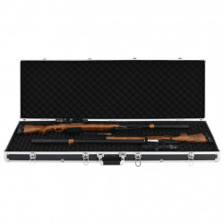Sonata Куфар за пушки, черен, 118x38x12 см, алуминий - Куфари и Чанти