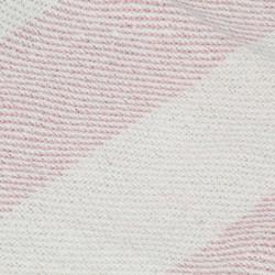 Sonata Декоративно одеяло, памук, ивици, 125x150 см, бледорозово - Спално бельо