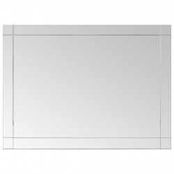 Sonata Стенно огледало, 60x50 см, стъкло - Тоалетки