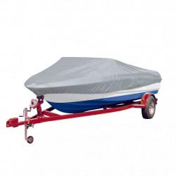 Покривало за лодка, сиво, дължина 427-488 см, ширина 229 см. - За яхти и лодки