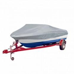 Покривало за лодка 519-580 см х 244 см (д х ш), цвят сив - За яхти и лодки