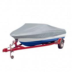 Покривало за лодка 610-671 см х 254 см (д х ш), цвят сив - За яхти и лодки