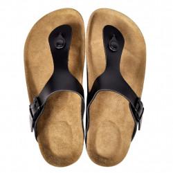 Черни чехли, унисекс, био корк, размер 37 - Работно Облекло