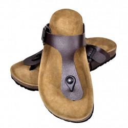 Кафяви чехли, унисекс, био корк, размер 39 - Работно Облекло