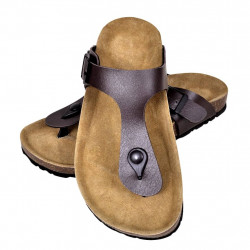 Кафяви чехли, унисекс, био корк, размер 41 - Спорт и Свободно време