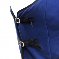 Попона за кон с ремъци, 115 см, синя - Спортове на открито