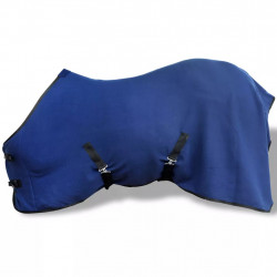Попона за кон с ремъци, 135 см, синя - Спортове на открито