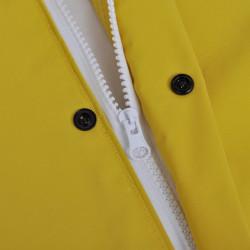 Водоустойчив дъждобран от две части с качулка, жълт, XL - Аксесоари за пътуване