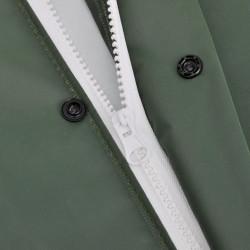 Водоустойчив дъждобран от две части с качулка, зелен, М - Аксесоари за пътуване