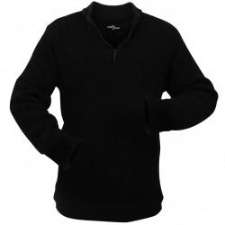 Sonata Работен мъжки пуловер, черен, размер XL - Работно Облекло